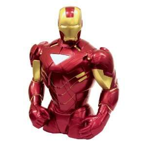 Marvel Iron Man Bust Bank Toys & Games
