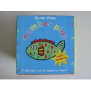 Number Play   Early Learning Book in a Box Kit: Karen Wane