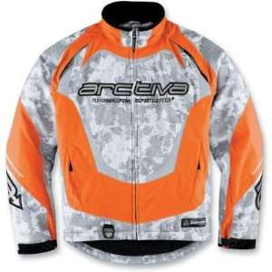 ARCTIVA JCKT COMP5 ORANGE CAMO LG 3120 0823: Automotive