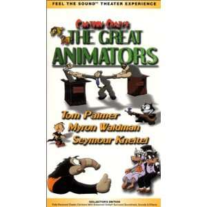 Cartoon Crazys   The Great Animators [VHS]: Cartoon Crazys