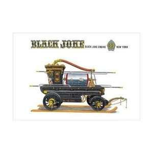 Black Joke Black Joke Engine 33 New York 12x18 Giclee on