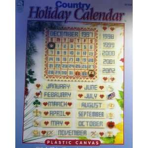 Country Holiday Calendar (Plastic Canvas) (Stitch This