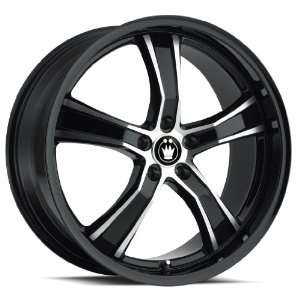 20x9 Konig Airstrike (Gloss Black / Machined) Wheels/Rims