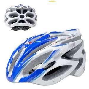GUB 98 Blue helmet / one piece dual purpose bike riding