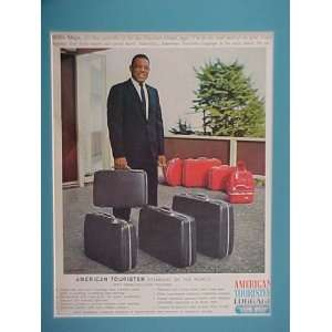 Mays San Francisco Giants All Star Outfielder 1960 American Tourister