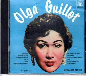 OLGA GUILLOT CON LA ORQUESTA HERMANOS CASTRO CD