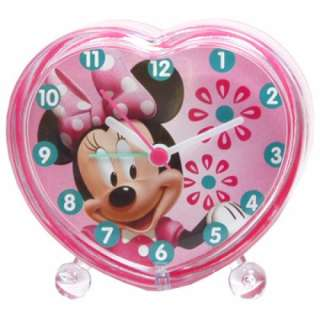 DISNEY MINNIE MOUSE MICKEY HEART ALARM CLOCK BED SIDE