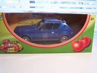 CHERRIES 1974 AMC GREMLIN DIECAST CAR 1/24 SCALE BLUE MOTOR MAX
