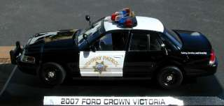 Motormax 1/24 CHP California Highway Patrol Ford Crown Vic Police