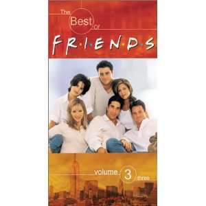 Friends: B.O. 3 [VHS]: Jennifer Aniston, Courteney Cox