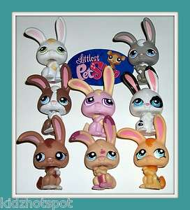 RABBIT LOT~#14 245 121 1722 1311 1766 1484 P#1~Littlest Pet Shop F81