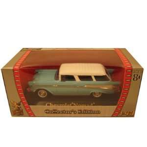1957 Chevrolet Nomad Blue 1/43 Diecast Car Model Toys
