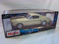 Maisto 118 Special Edition 1968 FORD MUSTANG GT COBRA JET Diecast