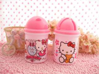 Cute Hello Kitty Baby Children Water Bottle 450ml Cup