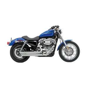 Vance & Hines Chrome Double Barrel Staggered Exhaust System for 2004