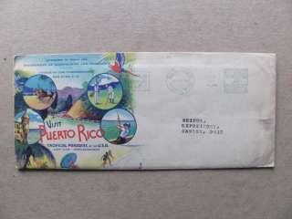 1938 San Juan,Puerto Rico Multi Color Ad Cover,Golf+Horse Racing