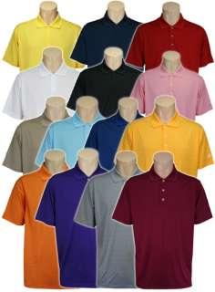 Adidas Golf ClimaLite Solid Textured Polo Shirt, Mens Small   2XL
