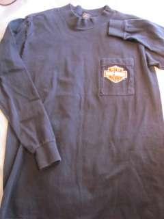HARLEY DAVIDSON T Shirt mens M Forged Steel BLACKSMITH Cactus LONG