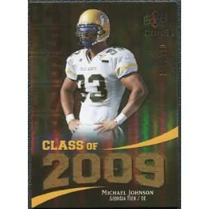Icons Class of 2009 Gold #JO Michael Johnson /130 Sports Collectibles