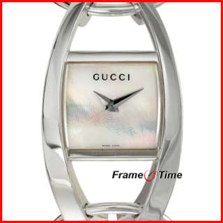 Gucci Ladies 123 Chiodo Sterling Silver Watch YA123501