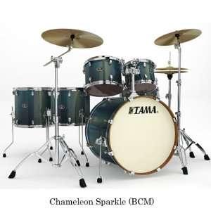 Silverstar 6 pc Double Floor Tom Shells Drum Set in