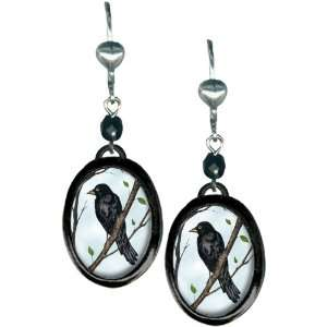 Classic Hardware Sterling Silver Plated And Black Enamel