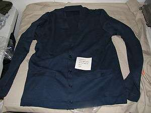 sweater acrylic mans USAF blue shade 1503 size 36