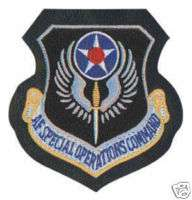AIR FORCE SPECIAL OPERATIONS OPS LEATHER VELCRO PATCH