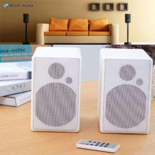 BARSKA HD Channel Wireless Speakers w/ Digital Transmitter 2.45 GHz