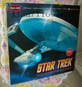 Star Trek USS Enterprise NCC 1701 A Model Kit 1:350