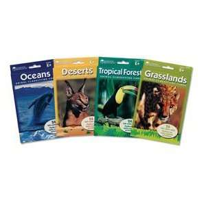 Learning Resources Animal Classifying Card; 24 Ocean, Desert, Tropic