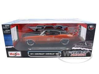 Brand new 1:18 scale diecast model of 1971 Chevrolet Chevelle SS 454