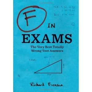 Best Totally Wrong Test Answers [Paperback] Richard Benson Books