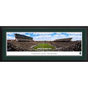 Michigan State University Spartans At Spartan Stadium DELUXE Framed