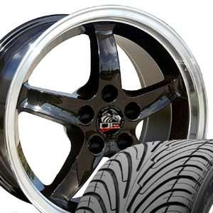 Cobra R Deep Dish Style Wheels and Tires with Machined Lip