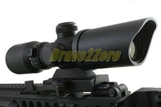 Dual Illuminated CrossHair Rifle Scope w/ Quick Release Mount