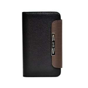 Faux Leather Skin Wallet Pouch Flip Case Cover For Samsung