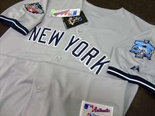New York Yankees #42 Mariano Rivera 602 Saves Road Jersey