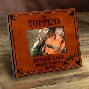 Personalized Cabin Series Walleye Picture Frame: Everything Else
