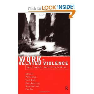 Work Related Violence (9780415194150): DIANE BEALE, Carol