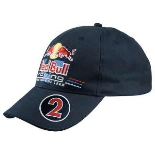 Red Bull F1 Racing Team 2011 driver cap Mark Webber