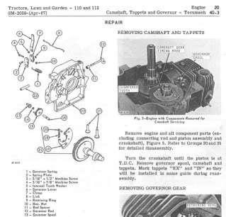 JOHN DEERE 110 112 SERVICE MANUAL LAWN AND GARDEN TRACTOR REPAIR CD