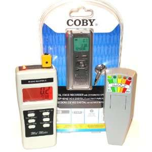 Mel 8704R K2 EMF Meters EVP Digital Voice Recorder New Baby