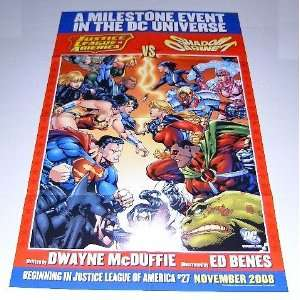 Shadow Cabinet DC Comics Universe Promo Poster Batman/Superman/Wonder