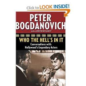 Hollywoods Legendary Actors [Paperback]: Peter Bogdanovich: Books