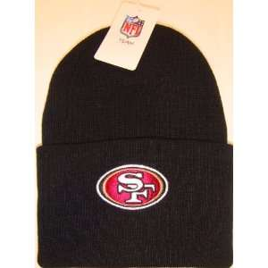 San Francisco 49ers NFL Long Beanie Knit Cap Caps Hat Hats Reebok Team