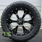 20 BMF Wheels Novakane DEATH METAL Black 35x12.50R20 Toyo MT 35 tires