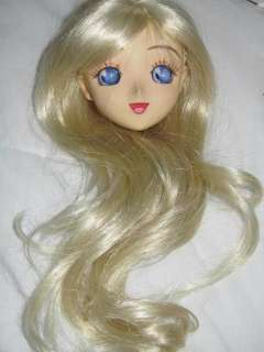 BJD 1/3 Super Dollfie OOAK Anime Style Head SD 60cm Sailor Moon Venus