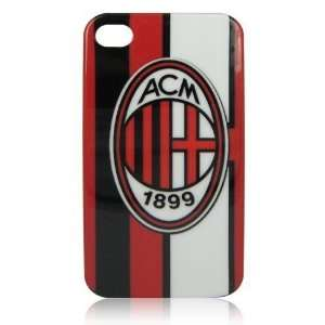 AC Milan Football Club Hard Case for iphone 4 Cell Phones