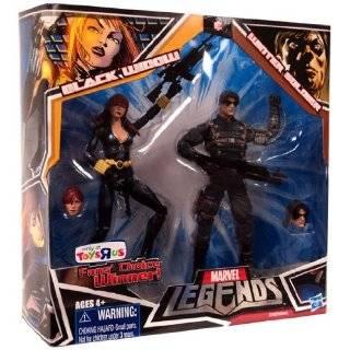 Exclusive Action Figure 2Pack Black Widow Black Costume WInter Soldier